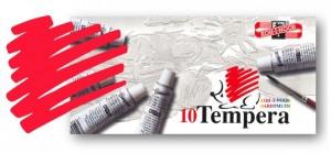 Temperová barva KOH-I-NOOR červeň permanentní světlá 16 ml