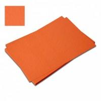 Karton vizitkový 180 g - oranžový  č.66