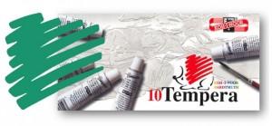 Temperová barva KOH-I-NOOR zeleň smaragdová 16 ml