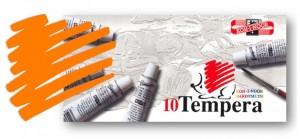 Temperová barva KOH-I-NOOR kadmium oranžové 16 ml