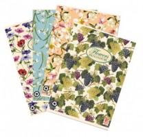 Školní sešit Pigna Nature Flowers, A5 linkovaný, 40 listů