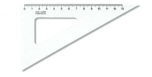 Trojúhelník trasparentní 13 cm - 60/170