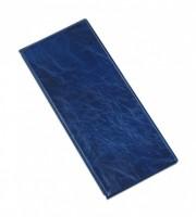 Vizitkář 4 řadý na 80 vizitek lesk modrý 6-202M