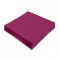 Ubrousky Maki Unicolor  L 20 ks - purple