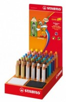 Pastelky Stabilo Woody 3v1 - Display - 48 ks
