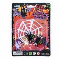 Dekorace - Pavučina s pavouky - 185760