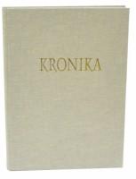Kronika A4 100 listů - světlý textil - Hospa