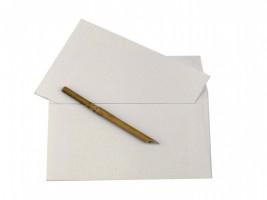 Ruční papír - dopisní kazeta 5/5V Chamois