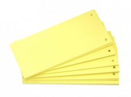 Rozdružovač 10,5 x 24 cm - 100 ks - žlutý
