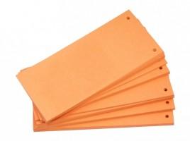 Rozdružovač 10,5 x 24 cm - 100 ks - oranžový