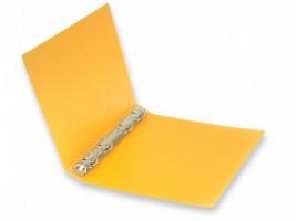Pořadač A5 -  4 kroužky, Opaline - oranžový