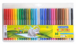 Souprava barevných popisovačů - fixy - 30 ks - 7790/30