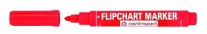Značkovač na Flipchart červený - 8550/1