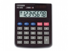 Kalkulačka Citizen SDC 805BN