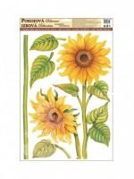 Pokojová dekorace - Slunečnice 50 x 35 - 541