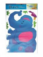 Pokojová dekorace - Velký slon - 557