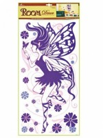 Pokojová dekorace - fialová víla 69 x 32 cm