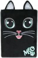 Plyšový deník - Černá kočka - 1224-3