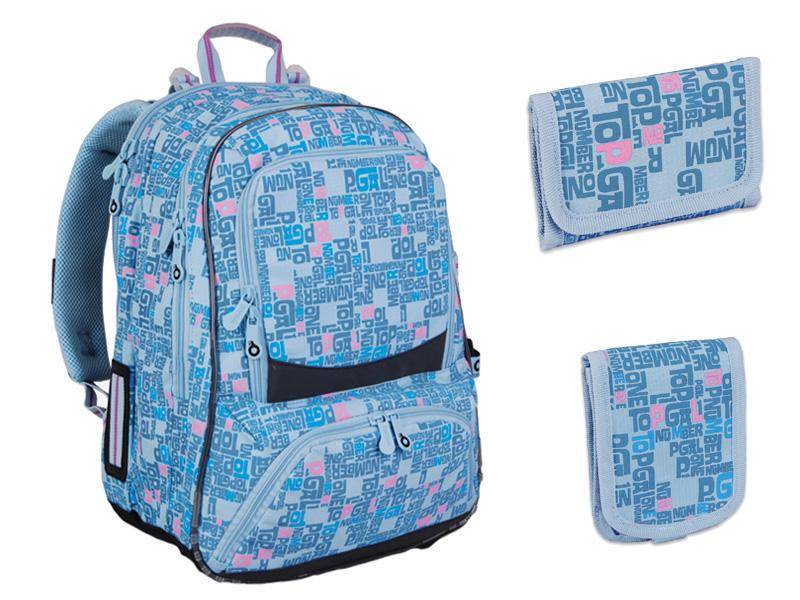 8004c01fa8 Tyto studentské batohy se vyznačují vysokou kvalitou zpracování a  elegantním vzhledem. Motiv Dark Safari je určen pro dívky s odvahou a stylem .
